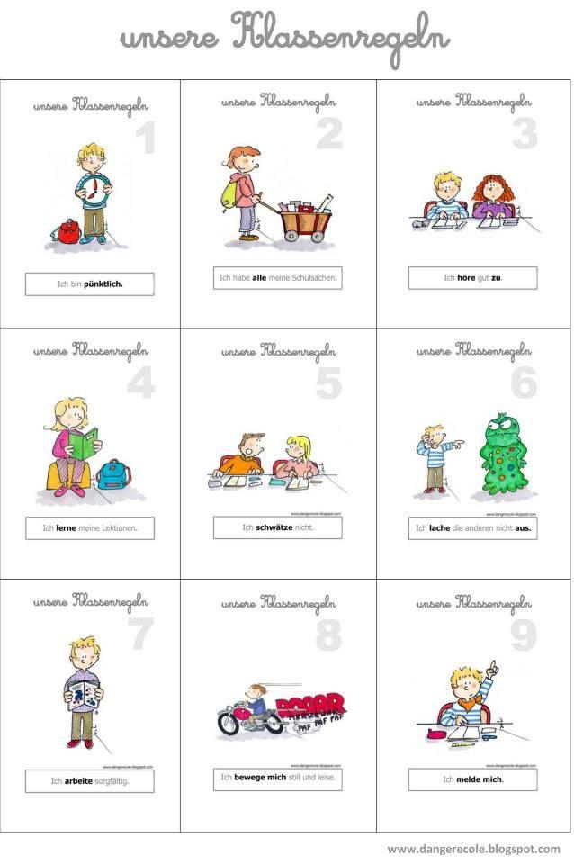 Brezel-Blog: Unsere Klassenregeln | Schule und Unterricht ...