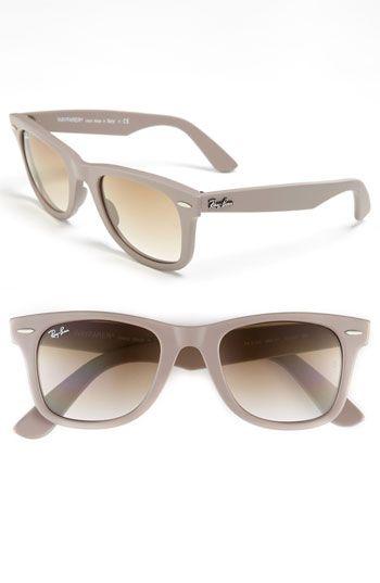 Wayfarers In Matte Grey W Brown Lens Ray Ban Sunglasses Ray Bans Sunglasses
