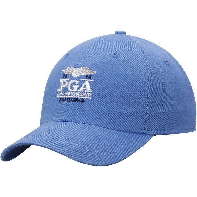 2016 PGA Championship Classic Solid Adjustable Hat - Royal