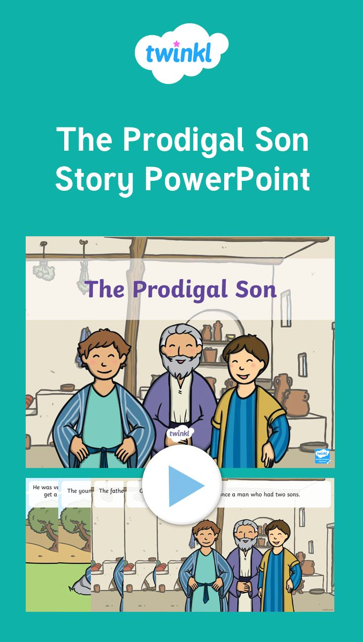 Teach the story of the prodigal son using this PowerPoint ...