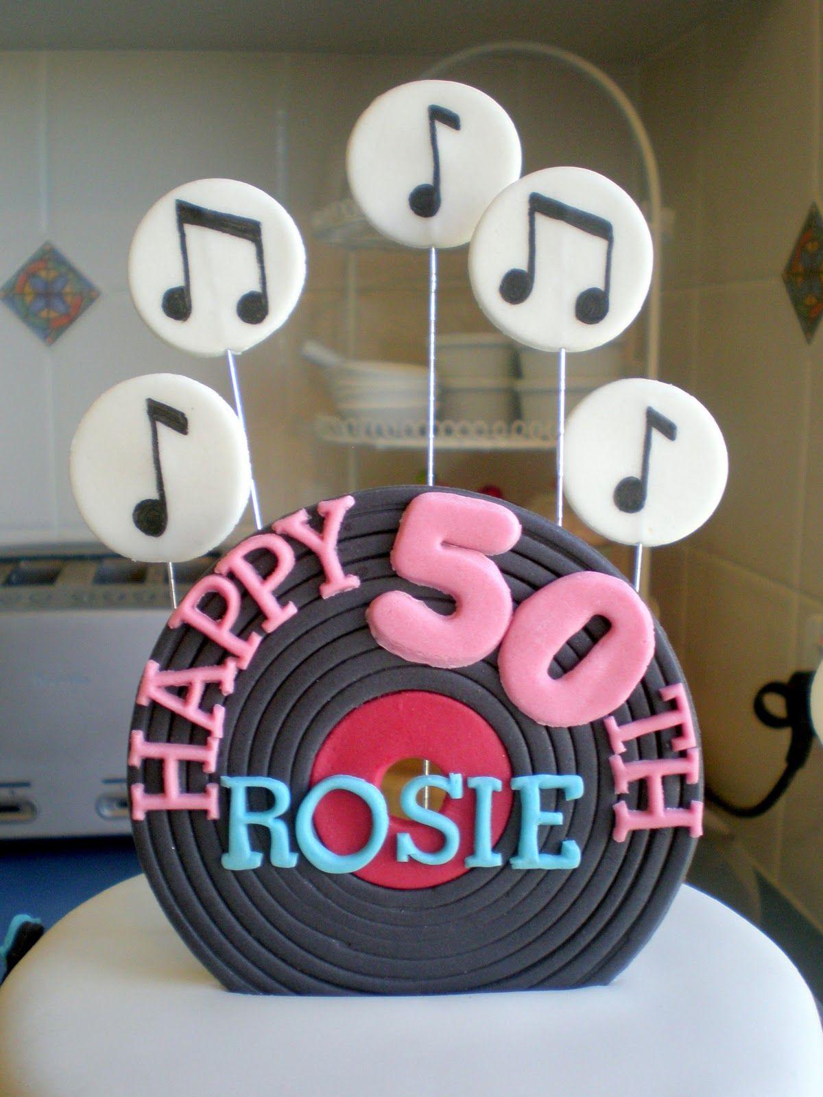 Rock N Roll Birthday Cake Ideas