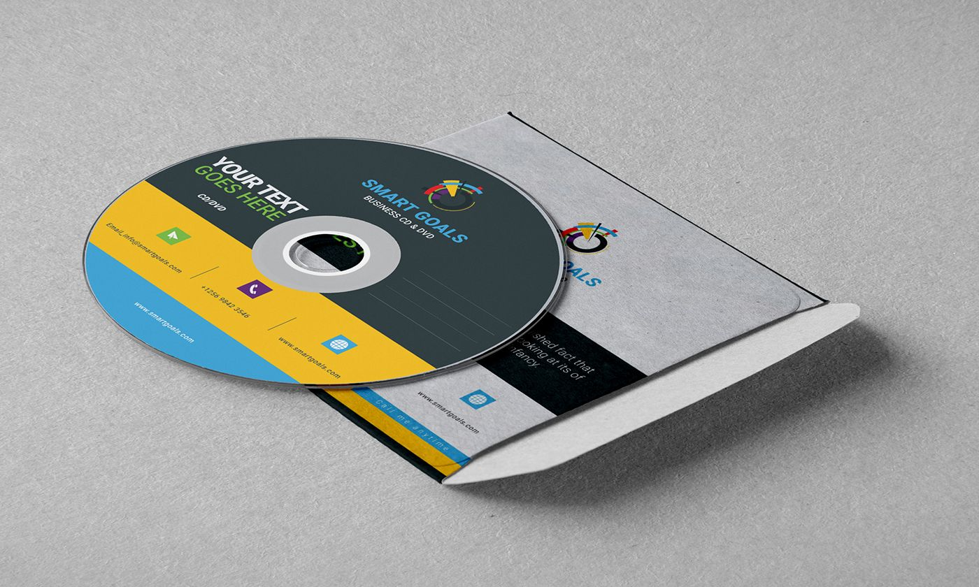 Check Out My Behance Project Corporate Cd Sleeves And Compact