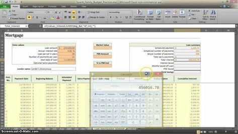 How to Make a Budget in Excel - Aux 1 excel Pinterest