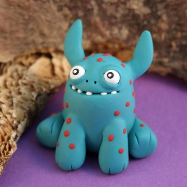 Modeling Clay Monsters 70 Photos Clay Monsters Modeling Clay Cute Clay