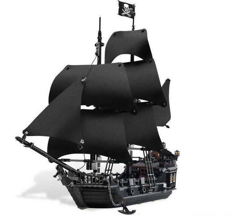 Barco Piratas Del Caribe La Perla Negra 804 Piezas Piratas Del Caribe Barco Pirata Piratas