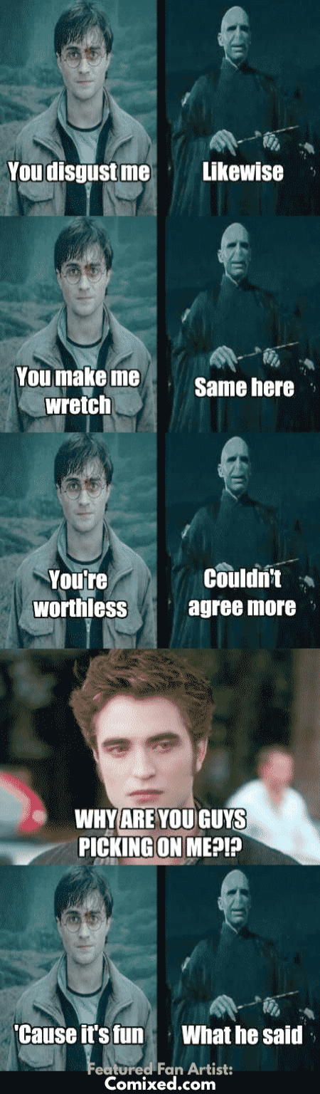 Harry Potter Characters In Hindi Than Harry Potter Series While Harry Potter Ki Movie Harry Potter Memes Hilarious Harry Potter Vs Twilight Harry Potter Funny