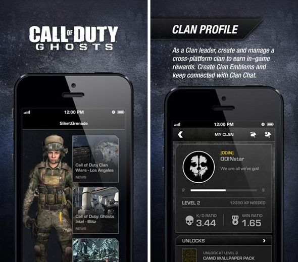 Official Call Of Duty Ghosts Companion App For Ios And Android