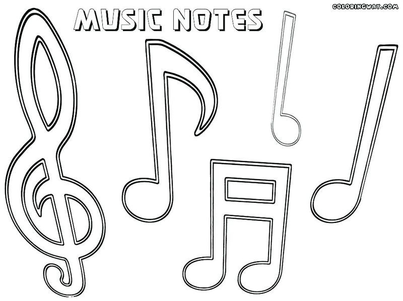 Music Class Coloring Pages