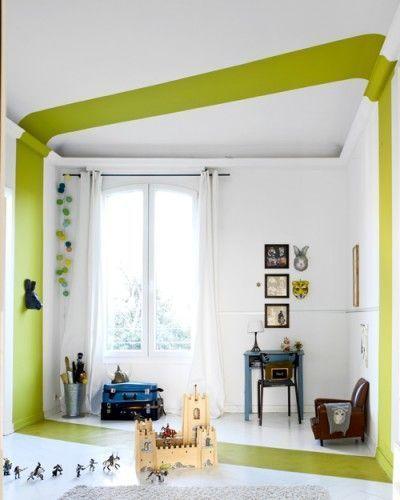 idée déco peinture chambre enfant | Maison // Déco | Pinterest ...