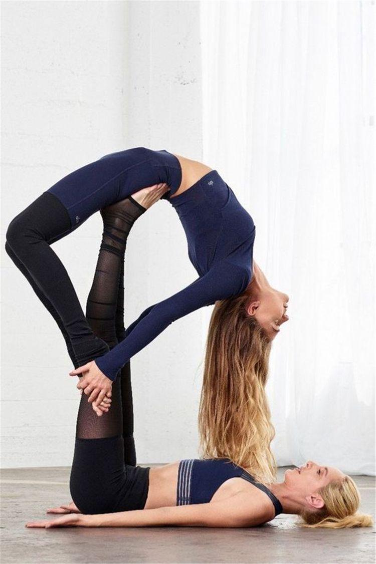 Couple Yoga Poses Advanced