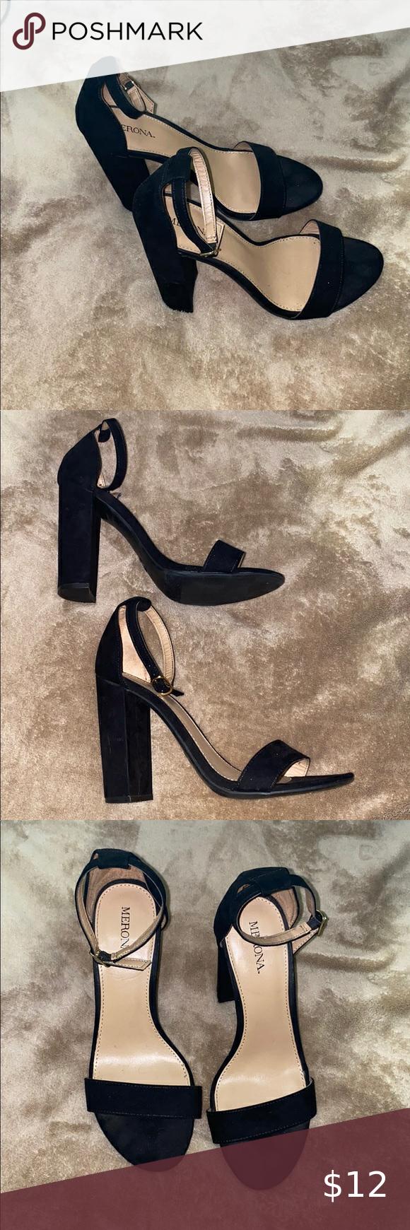 black open toe heels target