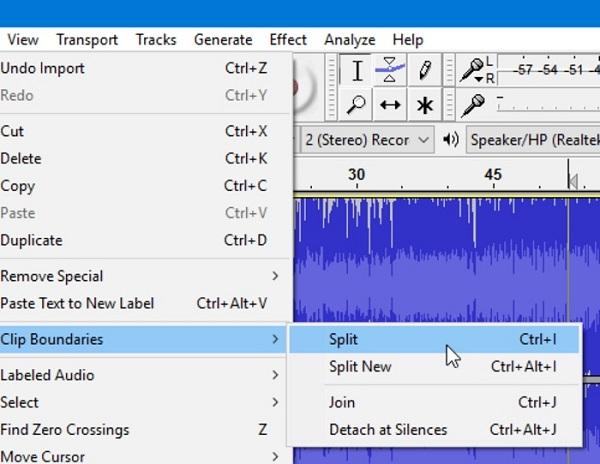 How To Split Audio In Audacity Solved Audio In How To Split Audio
