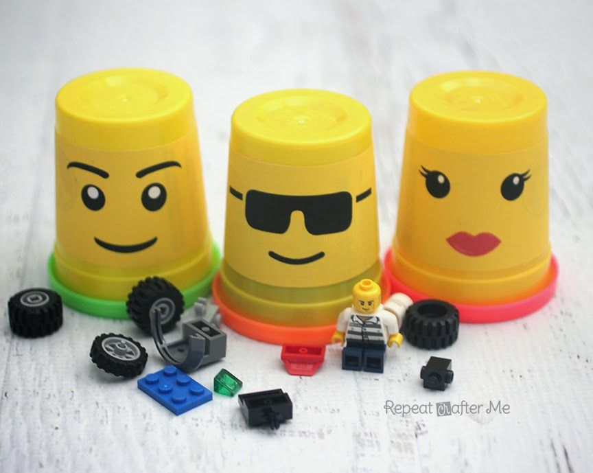 Repeat Crafter Me Lego Storage using Play Doh Containers  sc 1 st  Pinterest & Repeat Crafter Me: Lego Storage using Play Doh Containers | Kids ...