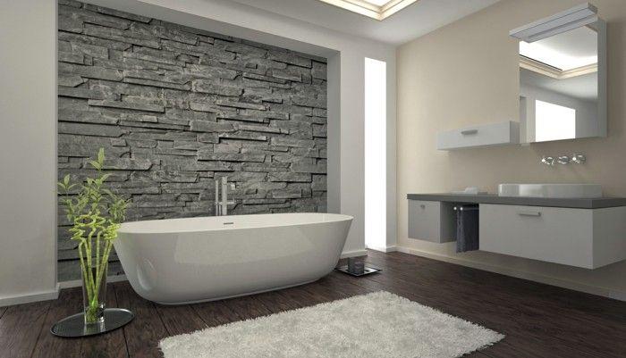 54 Badezimmer Beispiele Fur Richtige Gestaltung Archzine Net Stein Badezimmer Badezimmer Beispiele Bodenbelag Bad