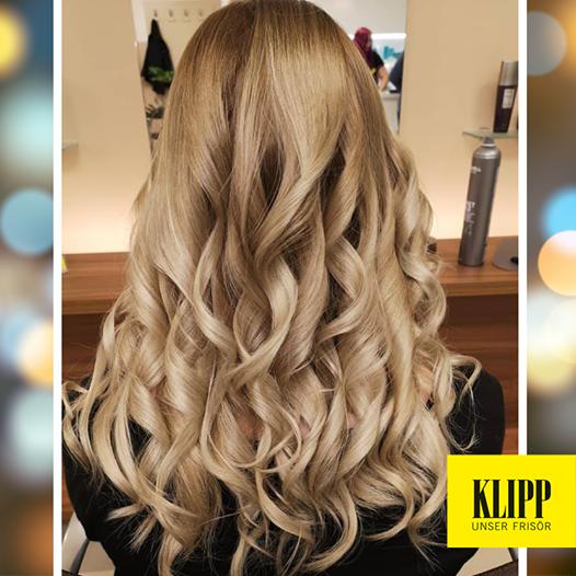 Blonde Lockenpracht Haarfarbe Dunkelblond Haar Styling Blondinen