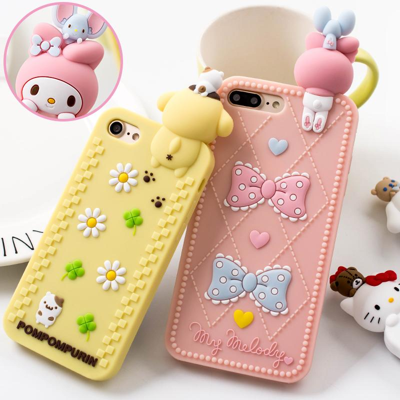 1659e0b39 Kawaii Character 3D Rubber iPhone Cases Inspired by Sanrio My Melody  Pompompurin Hello Kitty keroppi and more! So Kawaii Babe! 100% FREE  Shipping Worldwide.