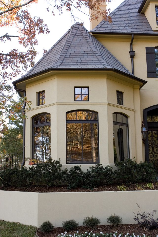 Black Trim With Stucco Selecting Roofing Colors That
