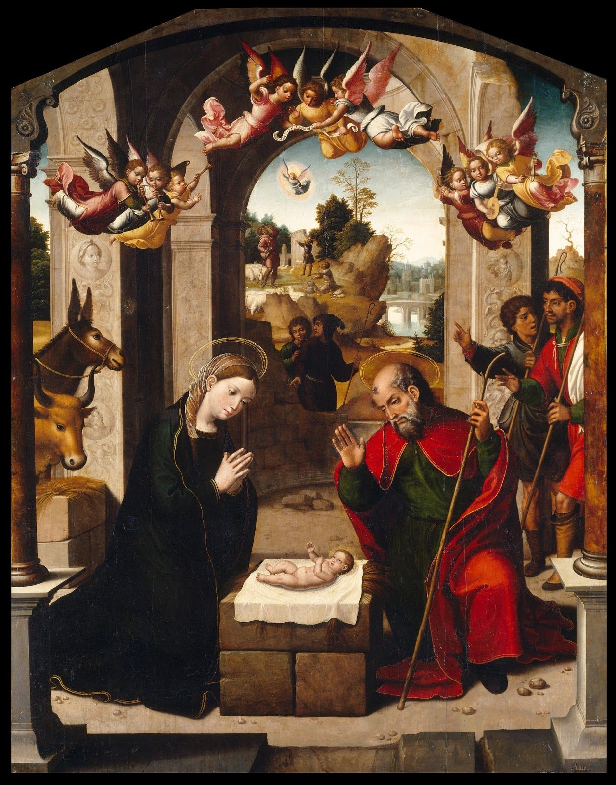 TICMUSart: La Natividad - Juan Correa de Vivar (1535) (I.M.)