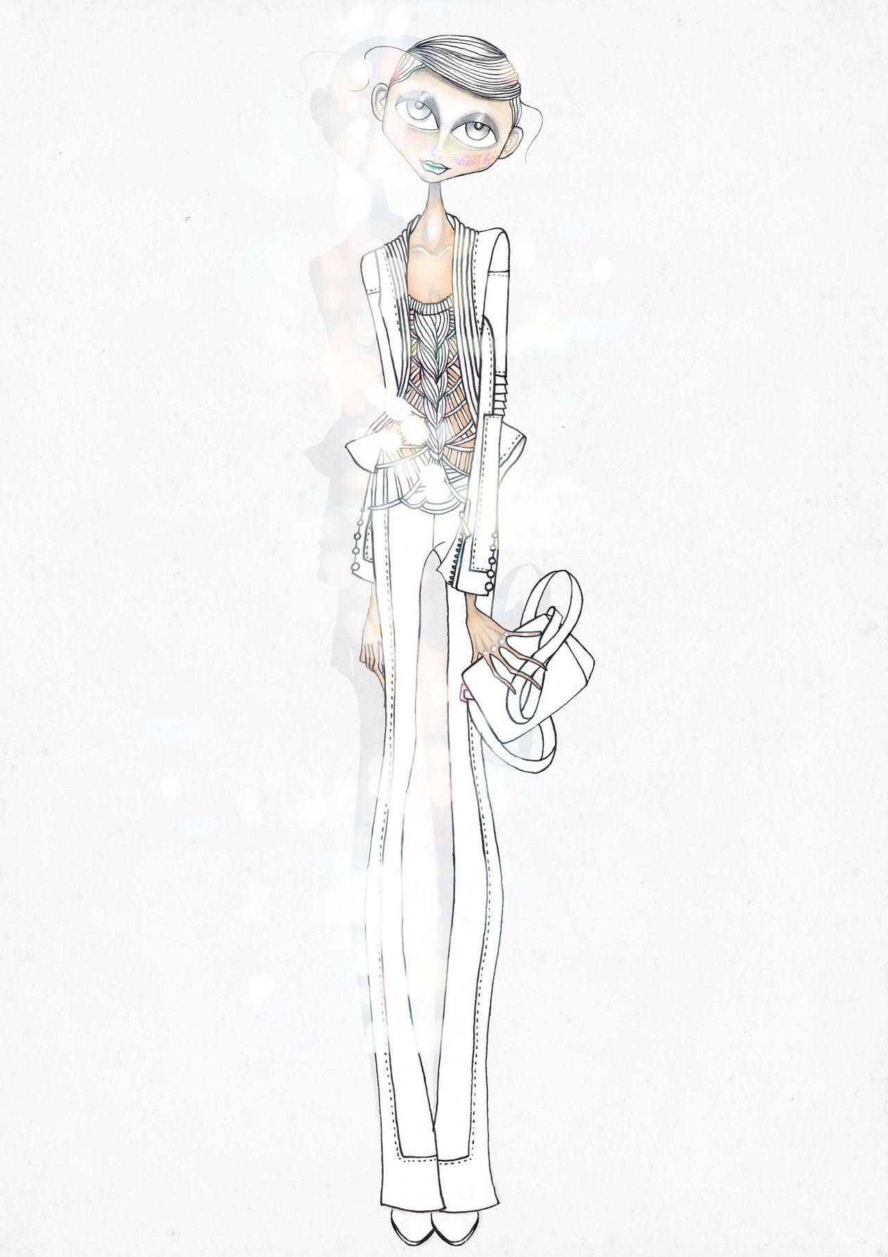 leandro benites : Foto   FSketch   Pinterest   Figurin ...