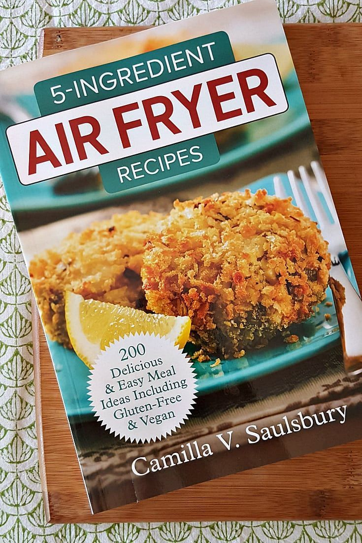 5 ingredient air fryer recipes cookbook Air fryer