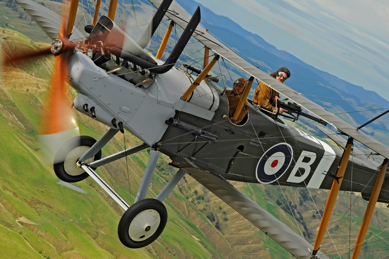 See the largest number of airworthy WWI aircraft in the