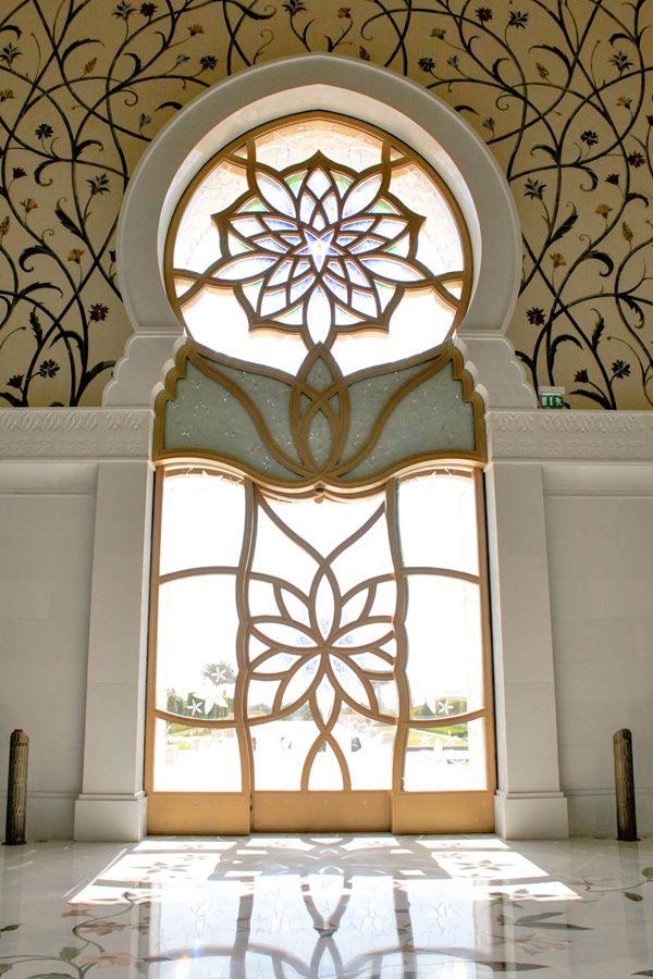 Foyer Decor Abu Dhabi : The sheikh zayed grand mosque in abu dhabi masjid