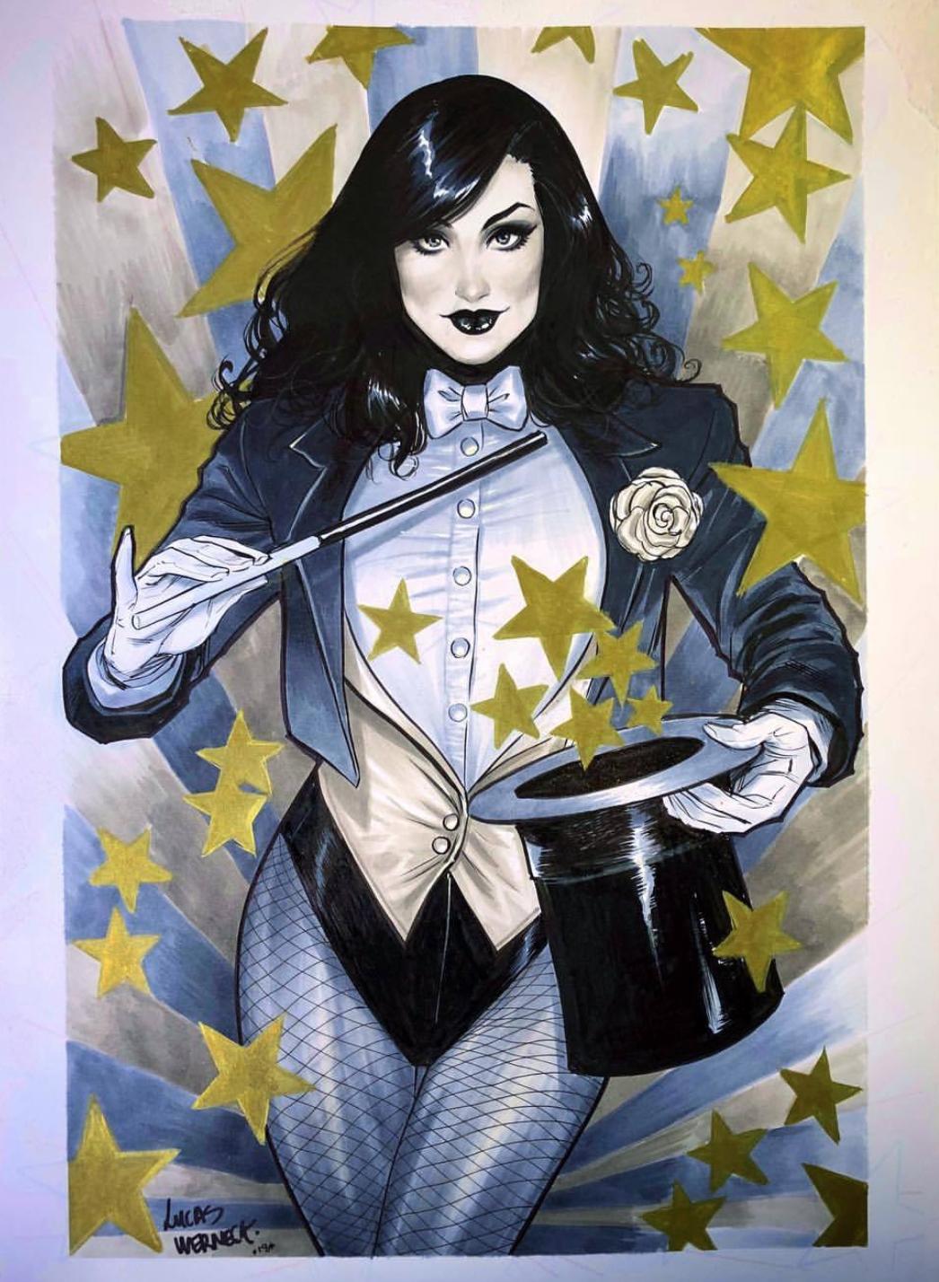 Zatanna Poster by krissthebliss on DeviantArt