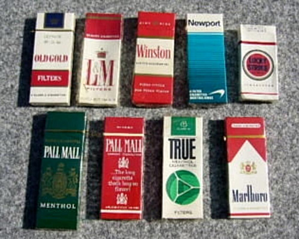 Marlboro cigarettes Kansas brand reviews