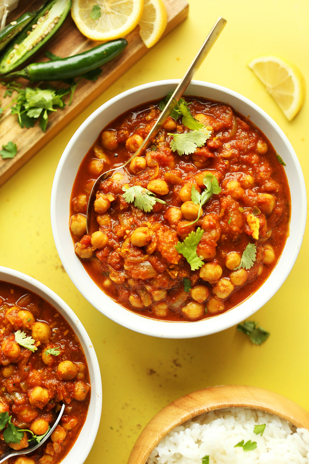 Easy Chana Masala Recipe Indian food recipes, Recipes