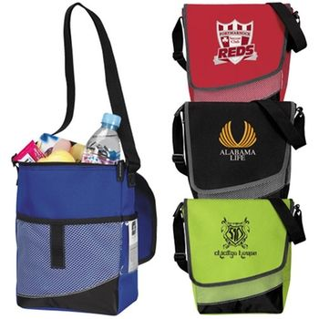 Crossbody Custom Imprinted Messenger Lunch Cooler