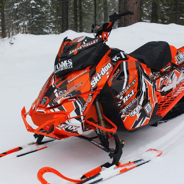 Image gallery for our Skidoo XM XS model sled wraps ...