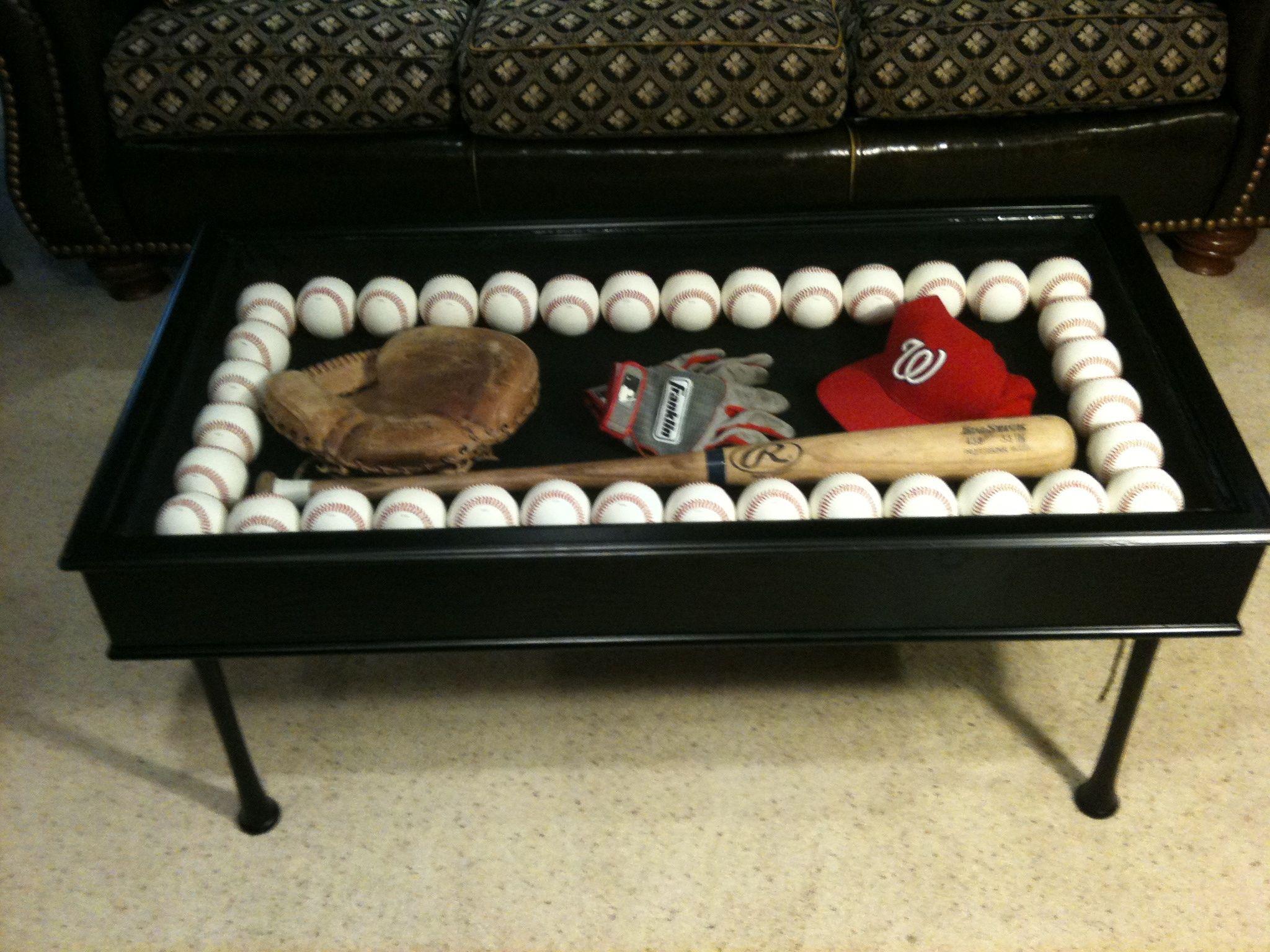 Baseball Bat Coffee Table Coffe Pinterest
