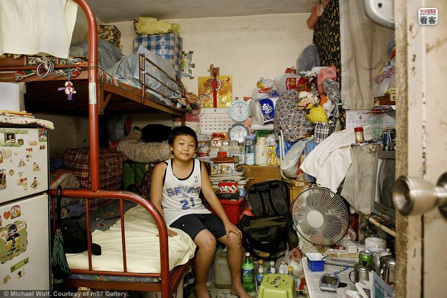 Hong Kong S High Density Housing Cramped Living Conditions Michael Wolf Hong Kong Kong