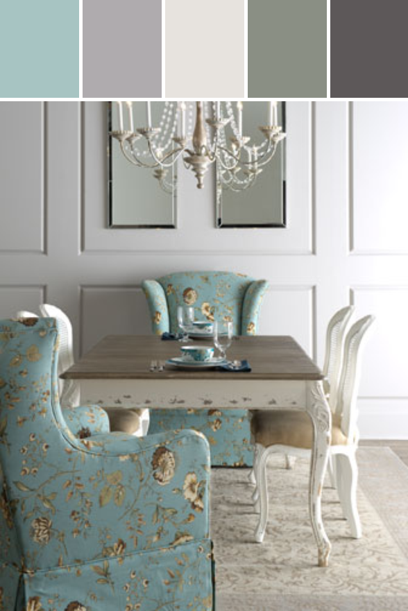 """Shabby Chic """"kendall"""" Dining Table """"tana"""" Skirted Chair Unique Kendall Dining Room Design Inspiration"""