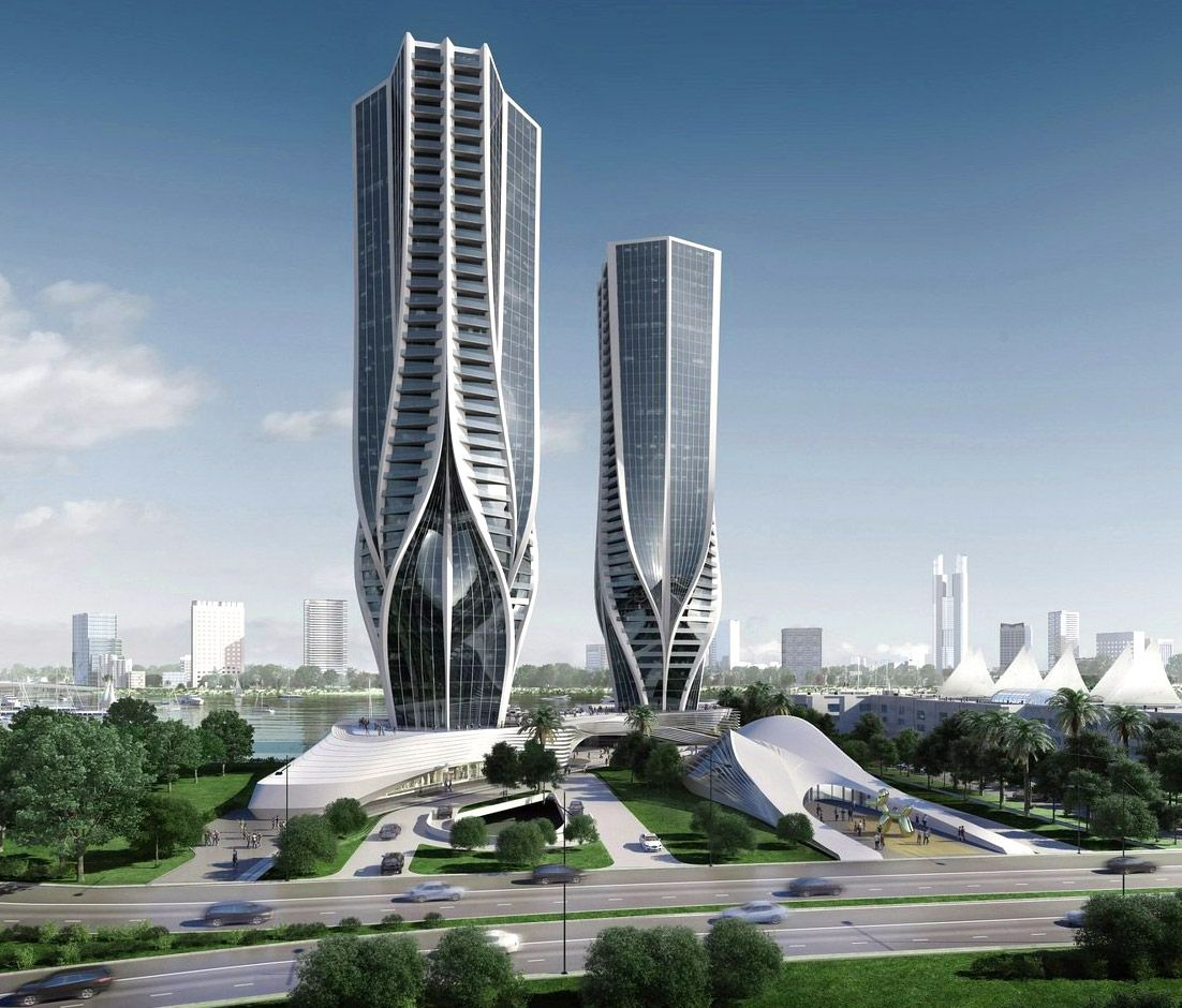 Zaha hadid unveils sinuous skyscrapers for australia s for Best building design