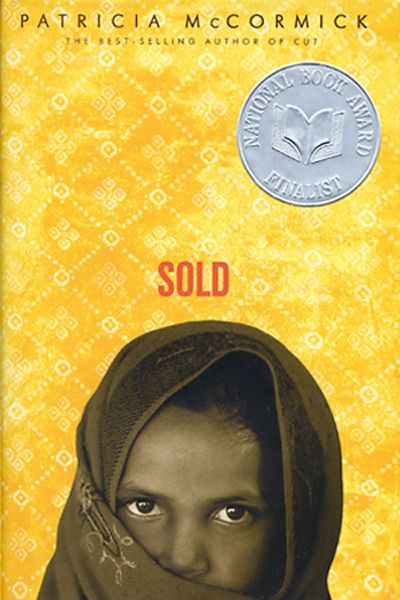 Sold by Patricia McCormick. I felt that Sold was a beautifully horrible book. I should explain! The descriptions and how it reads almost like poetry is wonderful and elegant. Meanwhile, the story of what is really going on is odious and dreadful. I feel lucky to not be in the middle of such atrocities.