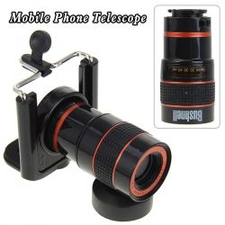 8X Optical Zoom Telescope with Adjustable Lens Universal Holder for Mobile Phone and Digital Camera- WANT