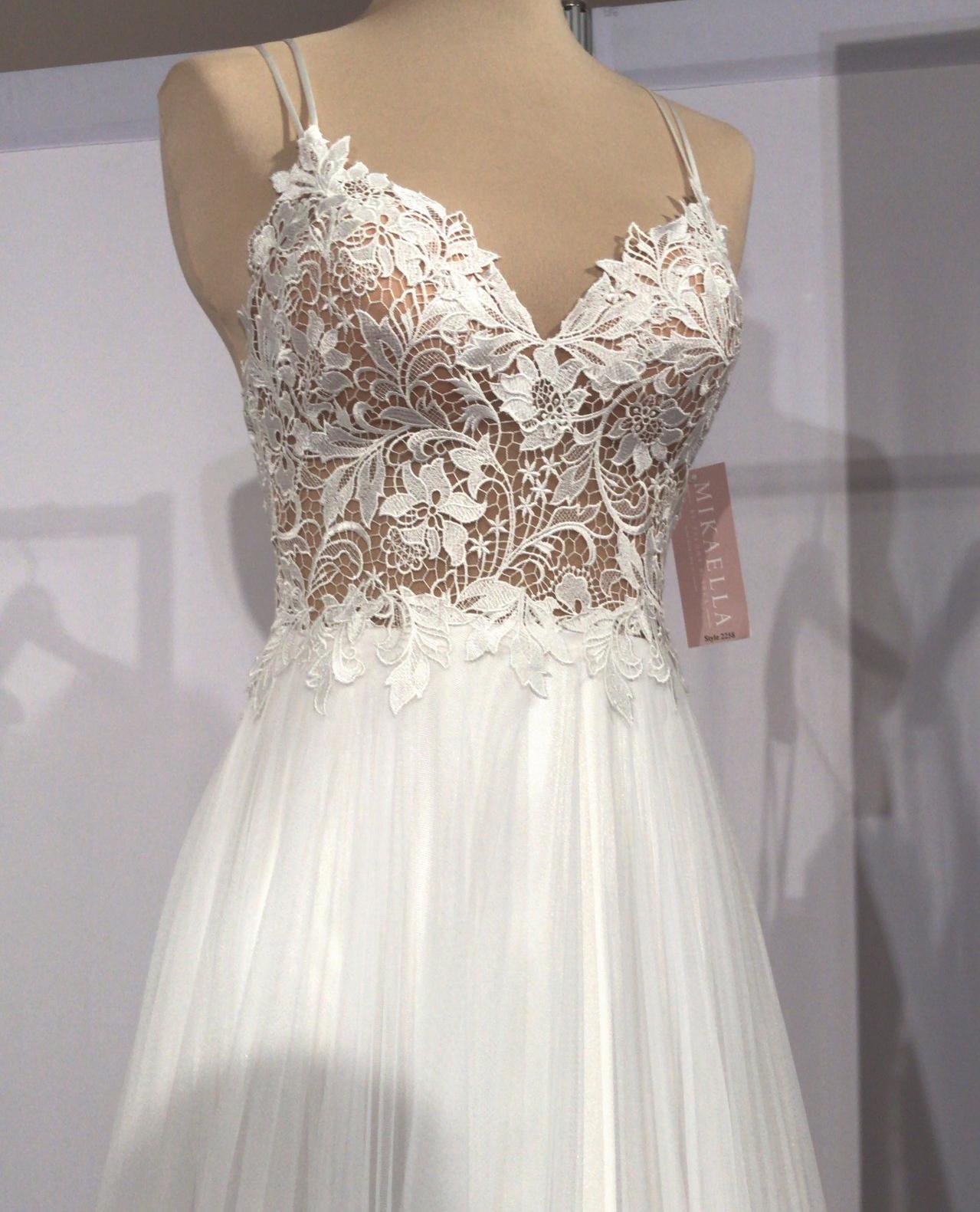 Enchanting Lace Bodice Wedding Dress Style 2258 Bodice