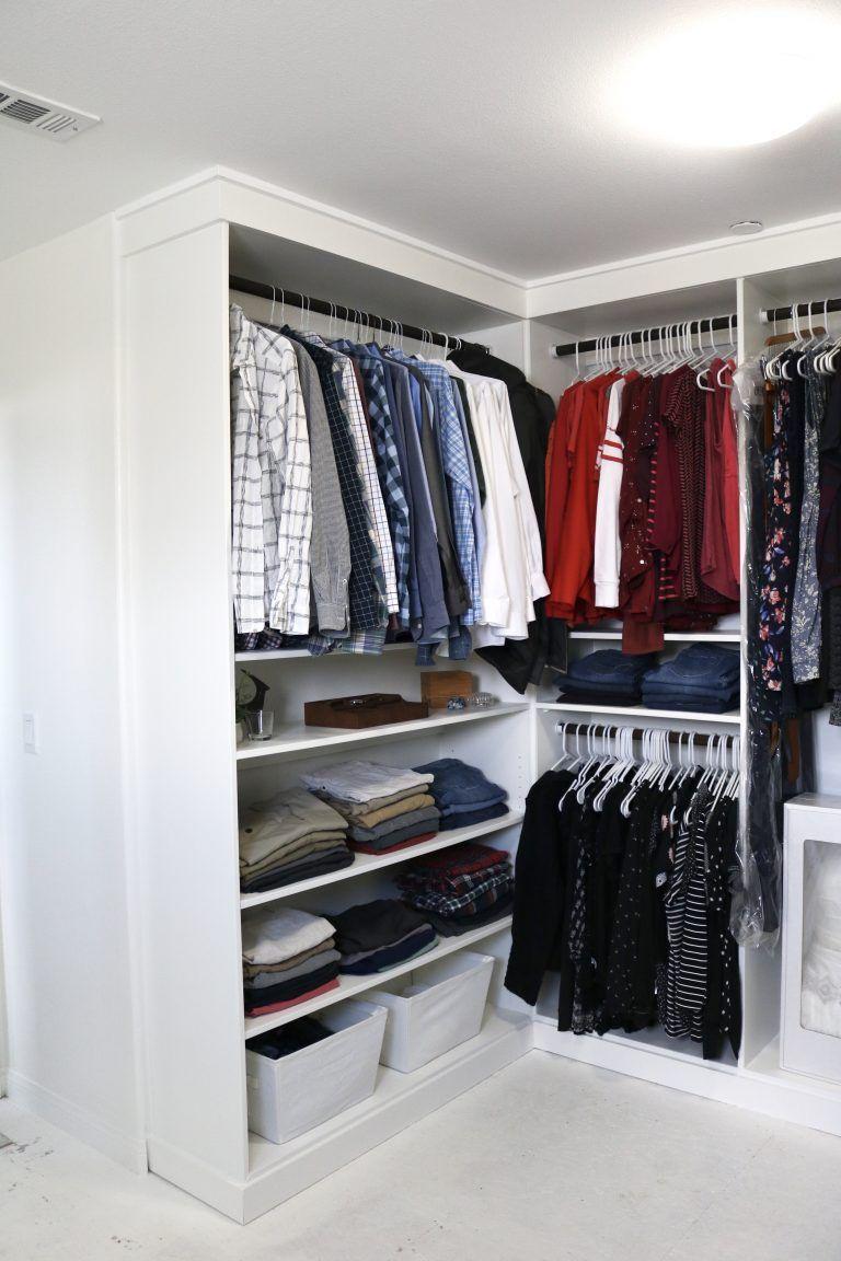 DIY Custom Master Closet: Part 4, The Reveal | Build a ...
