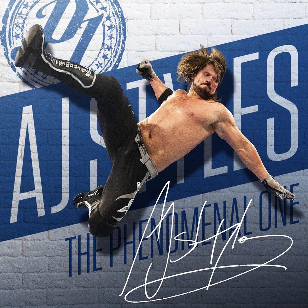 Pin by Wrestling Zone ️ on WWE Aj styles,