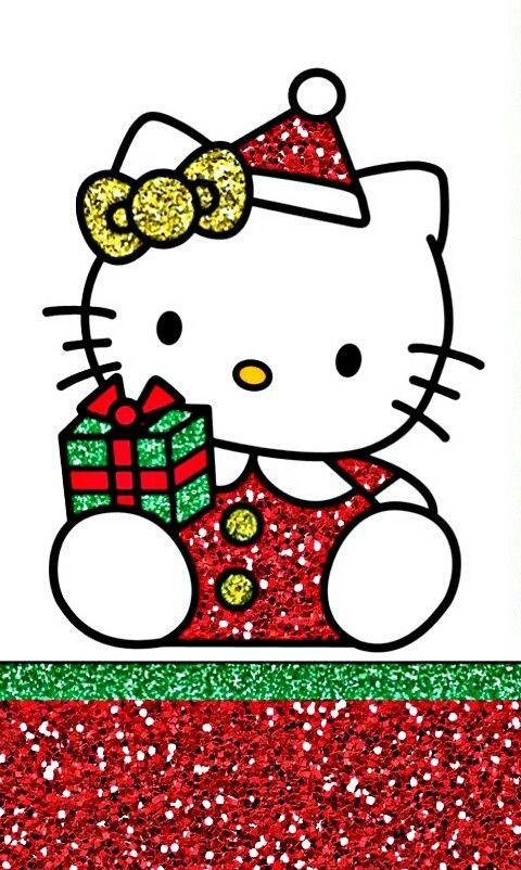 Hello Kitty Christmas.Christmas And Hello Kitty Image Hello Kitty Wallpapers
