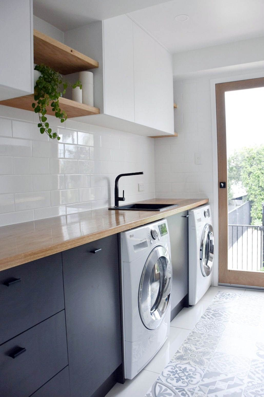 Stylish Small Kitchen Dining Laundry Room Ideas Just On Indoneso Com Modern Laundry Rooms Laundry Room Design Laundry In Bathroom