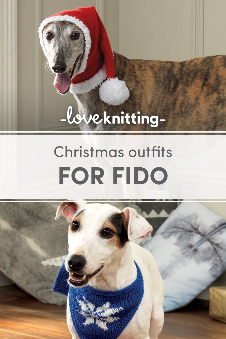 Christmas Outfits For Fido A Stitch In Time Pinterest