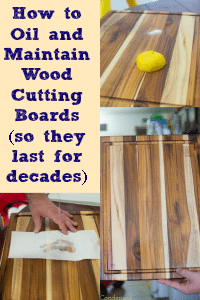 How To Oil And Treat Wood Cutting Boards Via Clarkscondensed