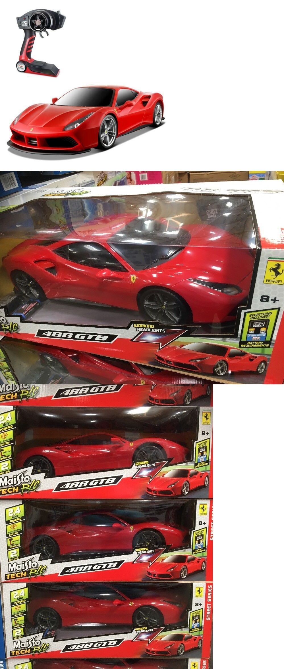 Cars Trucks And Motorcycles 182183 1 6 Scale Ferrari 488 Gtb Maisto Special Remote Control Rc Car Huge 22 Long New Buy It N Cars Trucks Ferrari 488 Rc Cars