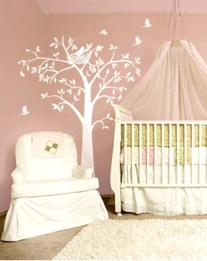 Love the tree ideas for baby room