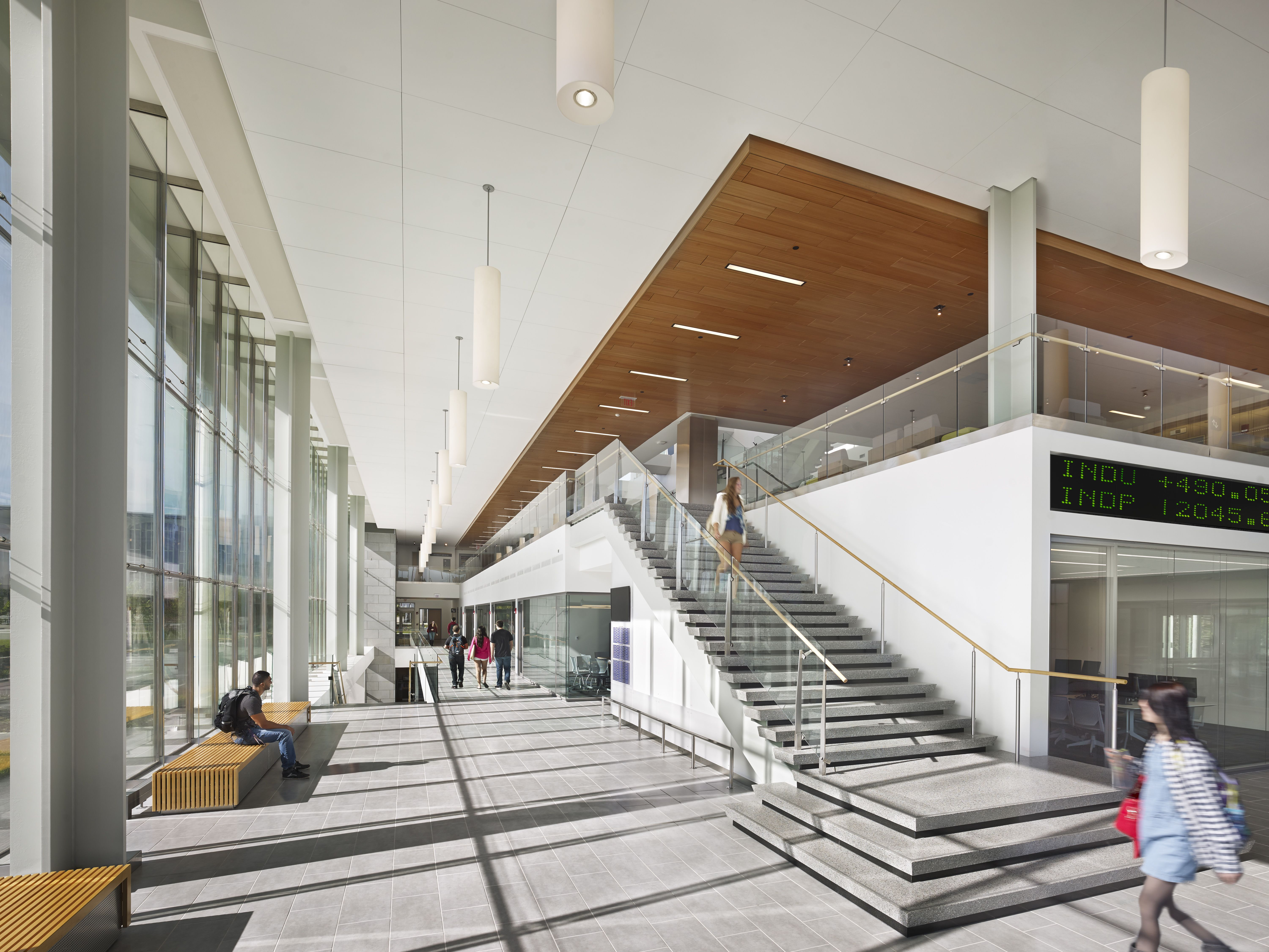 SUNY Albany New Business School Albany NY Architect Perkins