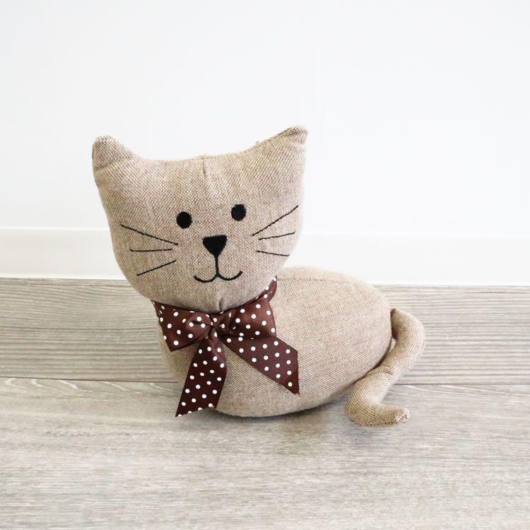 楽天市場 猫好き ドアストッパー 室内 かわいい おしゃれ ブック
