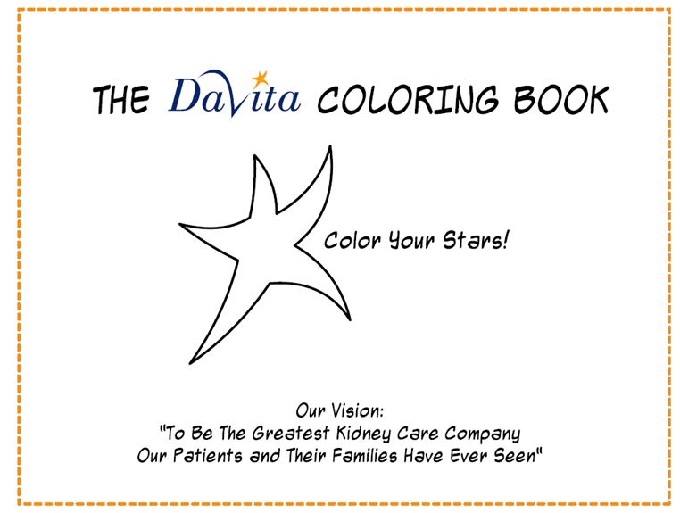 Davita Coloring Pages Our Core Values Caring Company Core Values Greatful