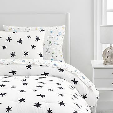 Organic Scandi Starburst Comforter & Shams